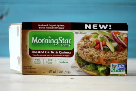 Morning Star Roasted Garlic & Quinoa Patties
