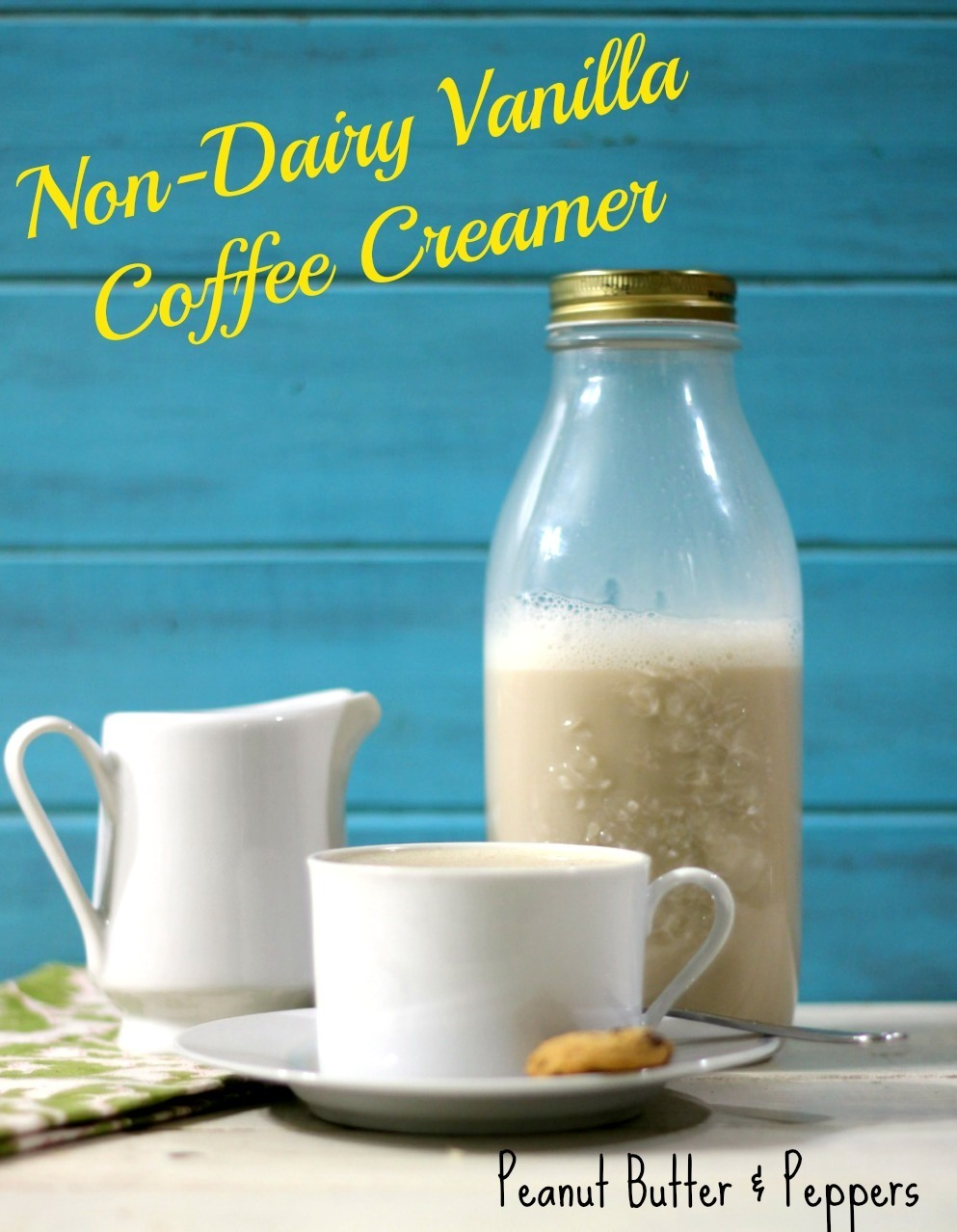 The Non-Dairy Vanilla Coffee Creamer came out just perfect! At first I wasn't sure because I was used to my dairy coffee creamer which I have been making ...