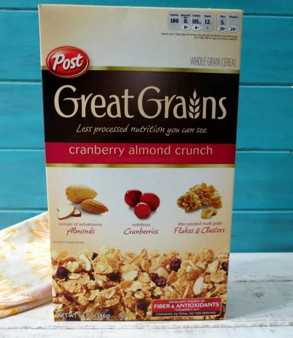Post Grain Grains Cereal