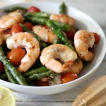 Shrimp with Asparagus and Tomatoes #ShrimpShowdown / Giveaway