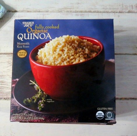 Trader Joes Fully Cooked Organic Quinoa