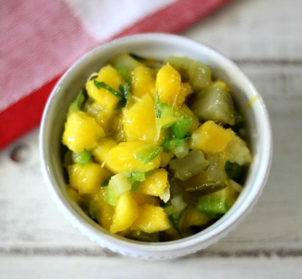 Sweet and Savory Mango Relish