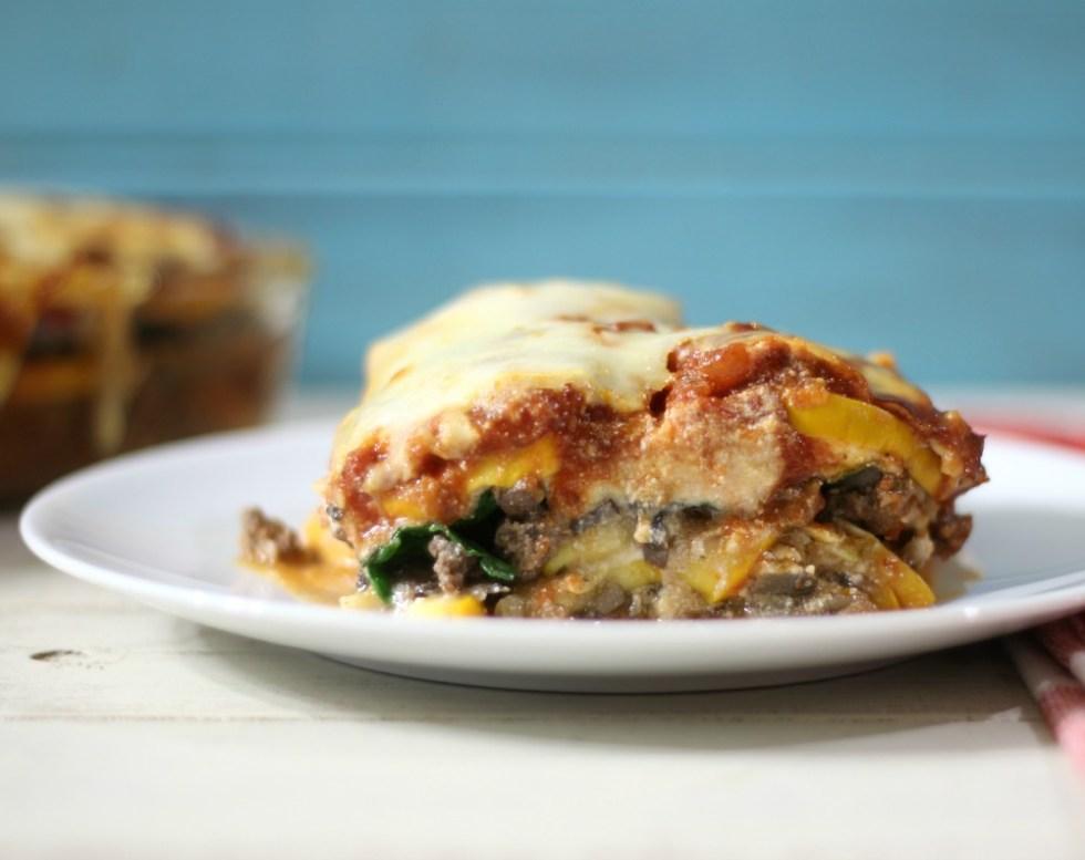 Zucchini Meat Lasagna #SundaySupper #ChooseDreams