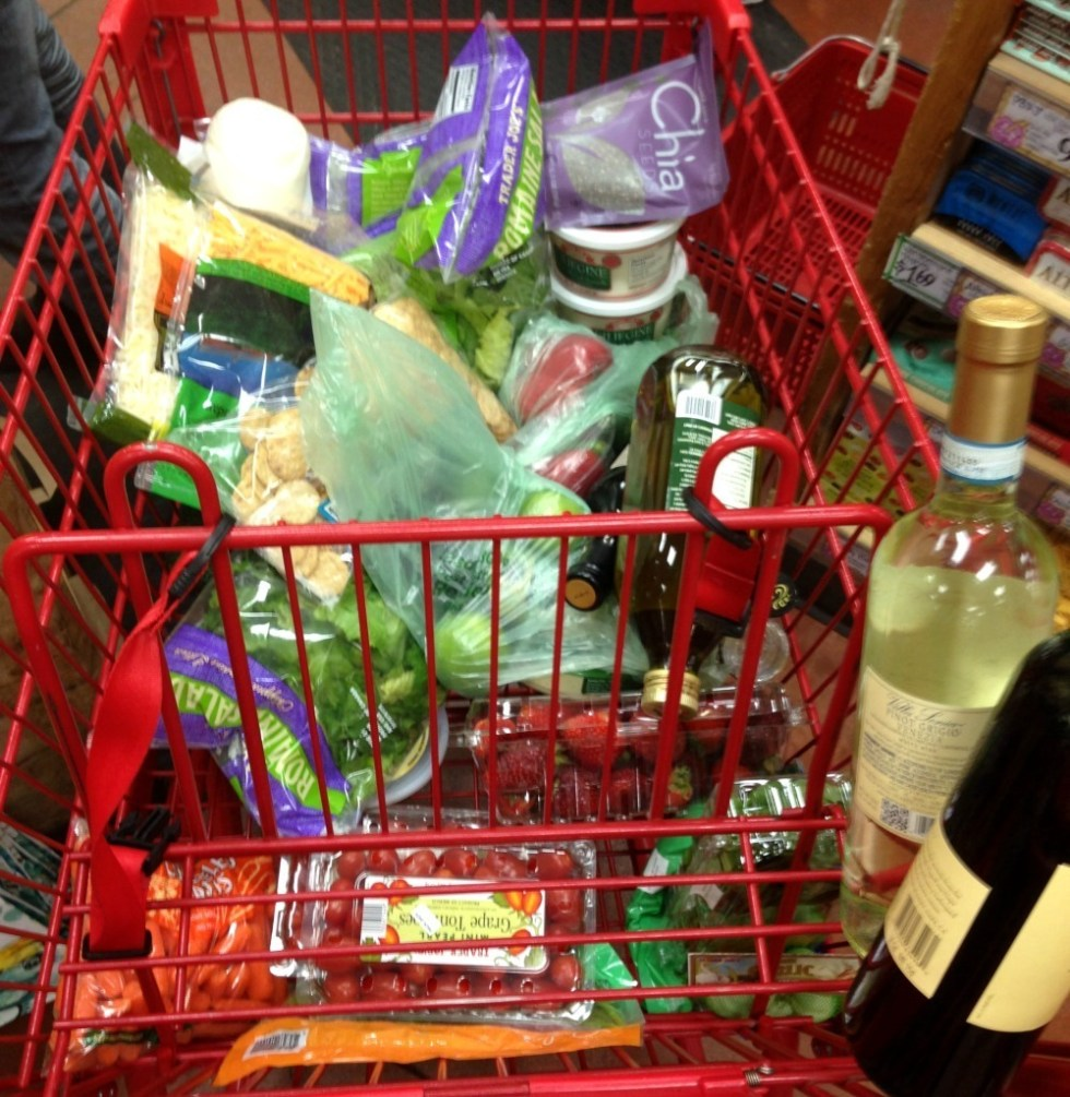 Trader Joes Grocery Cart