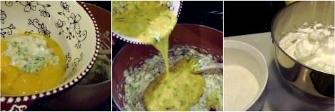 zucchini souffle collage