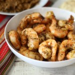 Baked Blackened Shrimp #BRFoodieFAM