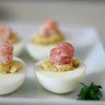 Cajun Style Deviled Eggs #SundaySupper