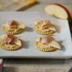 Turkey, Apple and Cheese Crackers