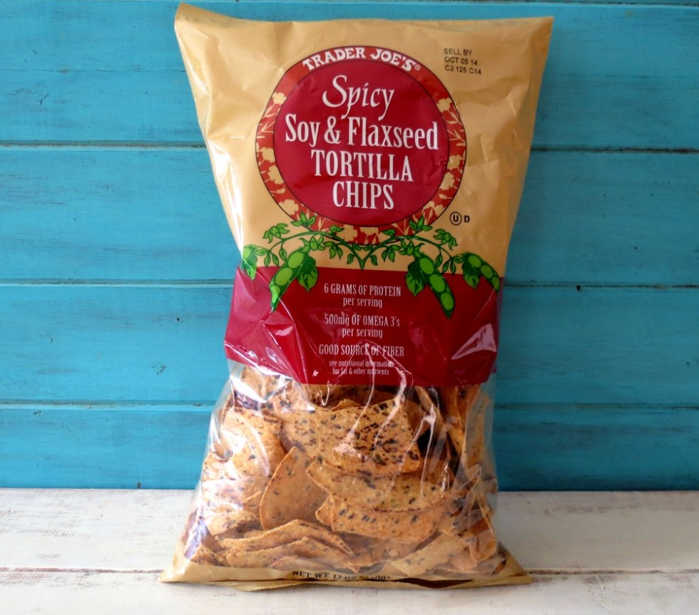 Trader Joes Soy Flax Tortilla Chips