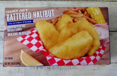 Trader Joe's Battered Halibut Gluten Free