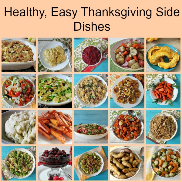 Healthy, Easy Thanksgiving Side Dishes