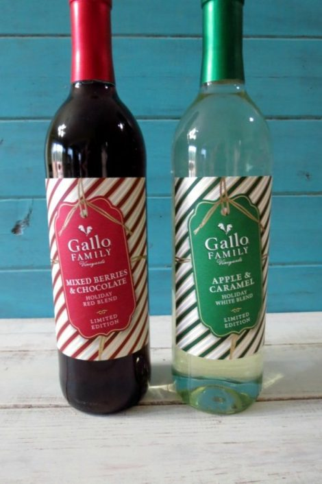 Gallo Family Vineyards Holiday Blend Wine #SundaySupper