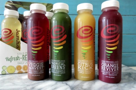 Jamba Juice Freshly Pressed Juices