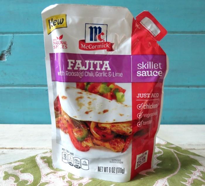 McCormick Fajita Skillet Sauce  #sundaySupper #McSkilletSauce