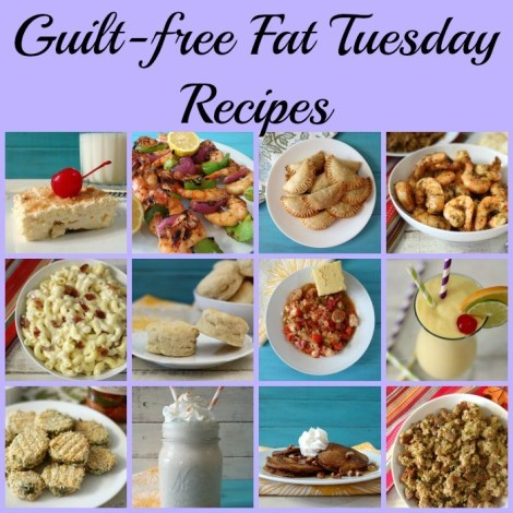 Guilt Free Fat Tuesday Recipes