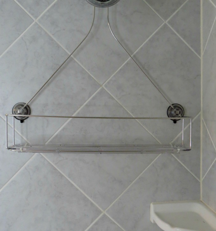 OXO Good Grips All-in-Reach Shower Shelf #OXOSpringCleaning