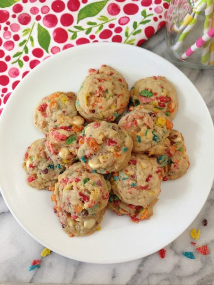 Fruity Pebbles Cookies