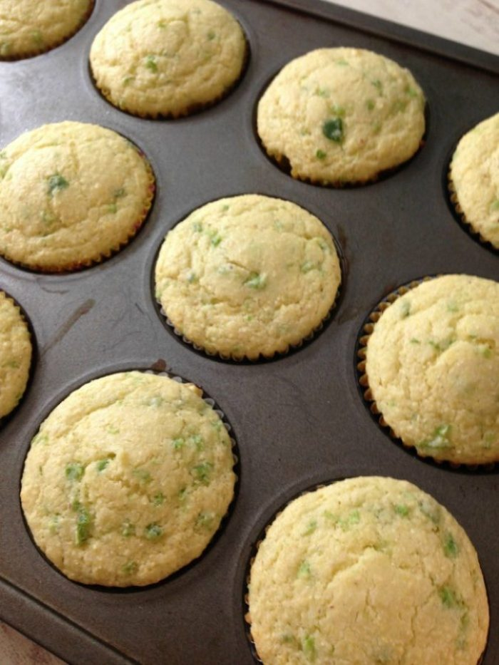 The Best Jalapeno and Honey Cornbread Muffins