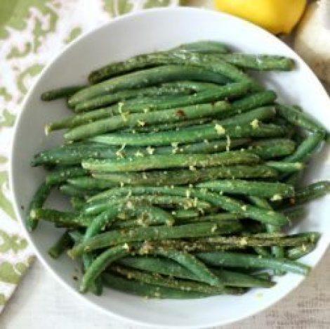 Lemon and Garlic Green Beans