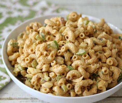 Lightened Up Chipotle Macaroni Salad
