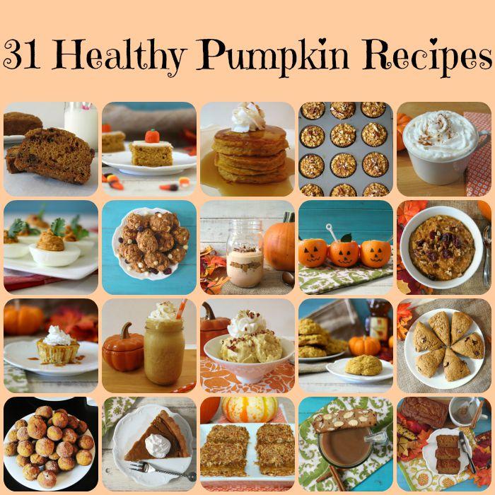 31 Healthy Pumpkin Recipes