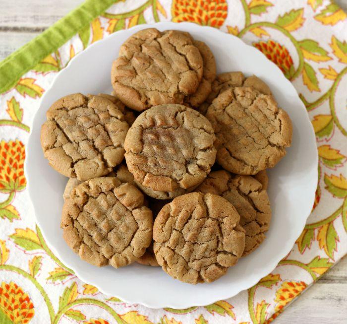 Pumpkin Spice Peanut Butter Cookies