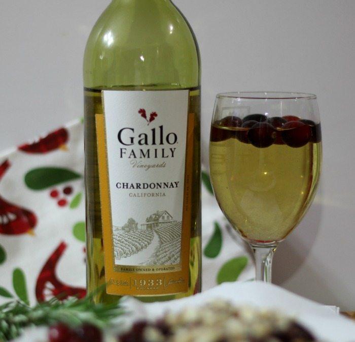 Gallo Family Vineyards Chardonnay #SundaySupper #GalloFamily