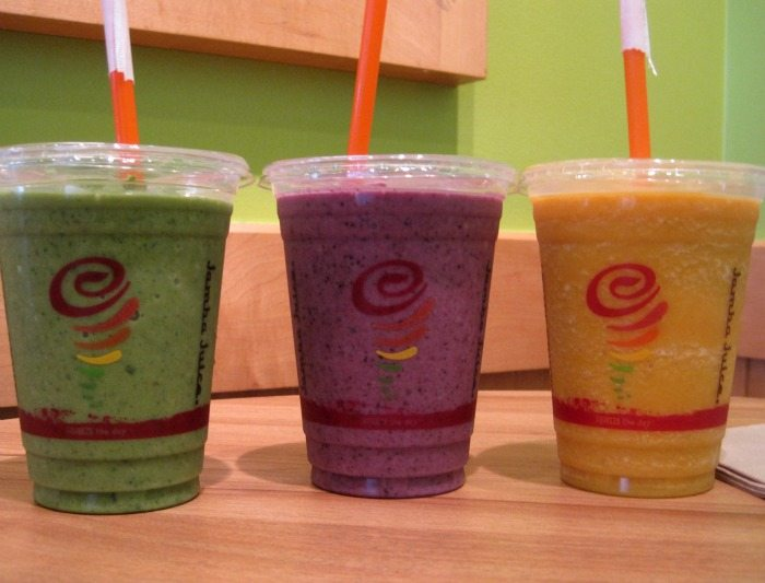 Jamba Juice Almond Milk Smoothies a