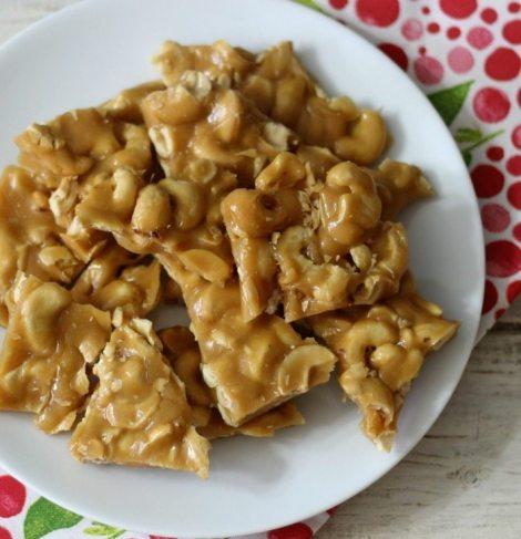 Cashew Brittle