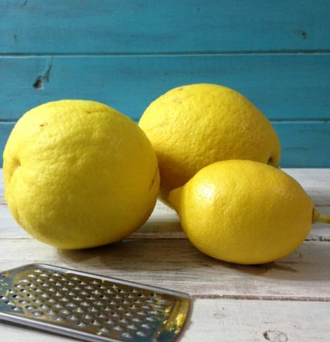 Freezing Lemon Zest and Juice