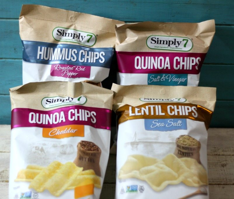 Simply 7 Quinoa and Hummus Chips
