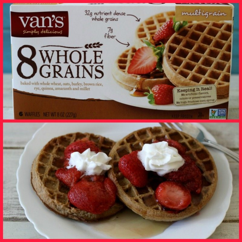 Vans Whole Grain Waffles