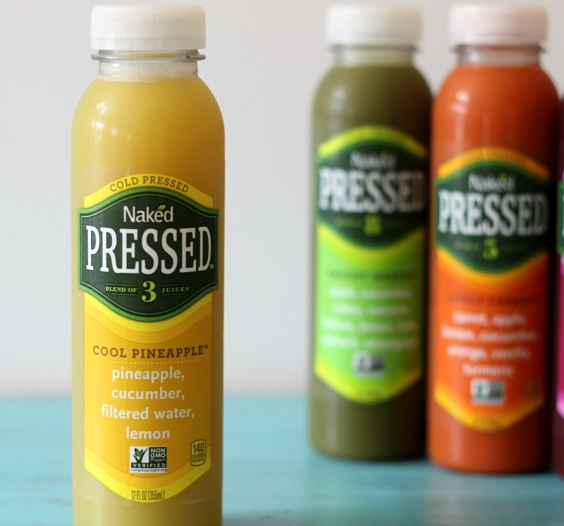 Naked Cold Pressed Juice Cool Pineapple
