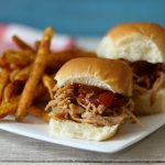 BBQ Pork Sliders (Crockpot)