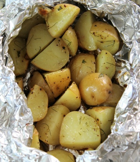 Herb & Parmesan Potato Packet