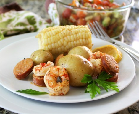 Grilled Shrimp Boil