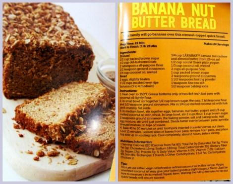 Banana Nut Butter Bread #LaraNutButter #Larabar