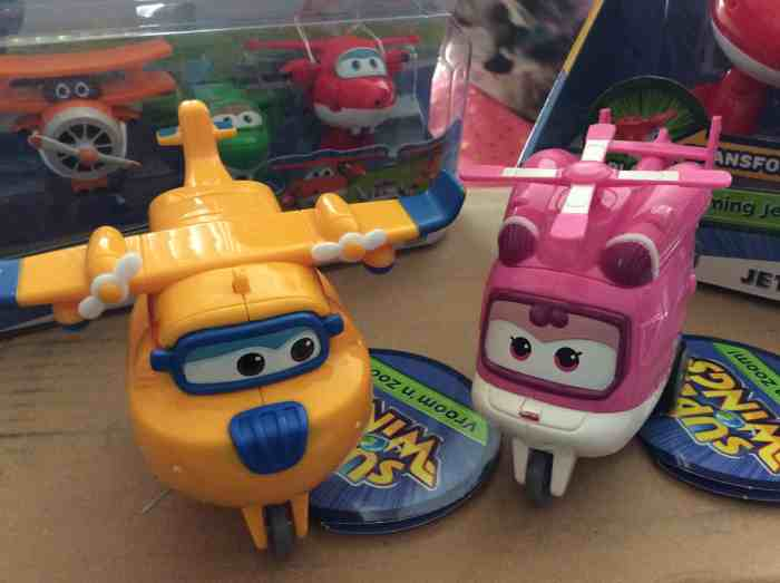Sprout TV's Super Wings Characters