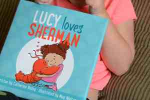 Lucy Loves Sherman book