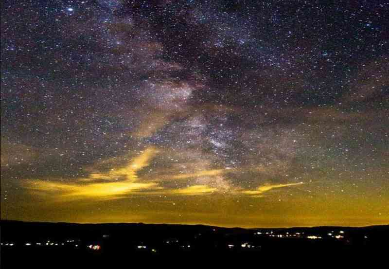 night sky in Idaho