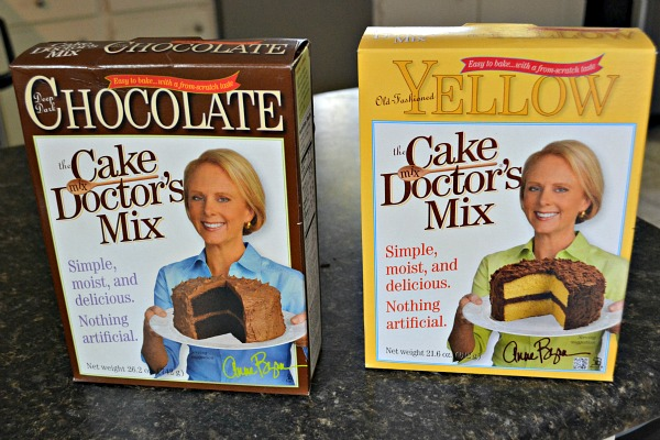 Cake Mix Doctor Chocolate Peanut Butter Bars