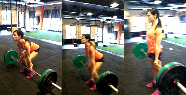 This Weeks Workouts Learning To Love Deadlifts Peanut Butter Runner