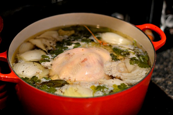 chicken noodle soup homemade stock