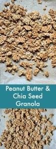 Peanut Butter Chia Seed Granola