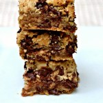 Chocolate Chip Toffee Bars {Recipe}