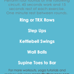 45/15 Circuit Training Workout {Video + Workout Post}