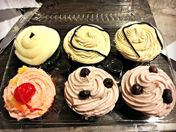 Boozy cupcakes from FuManChu in Charlotte, NC