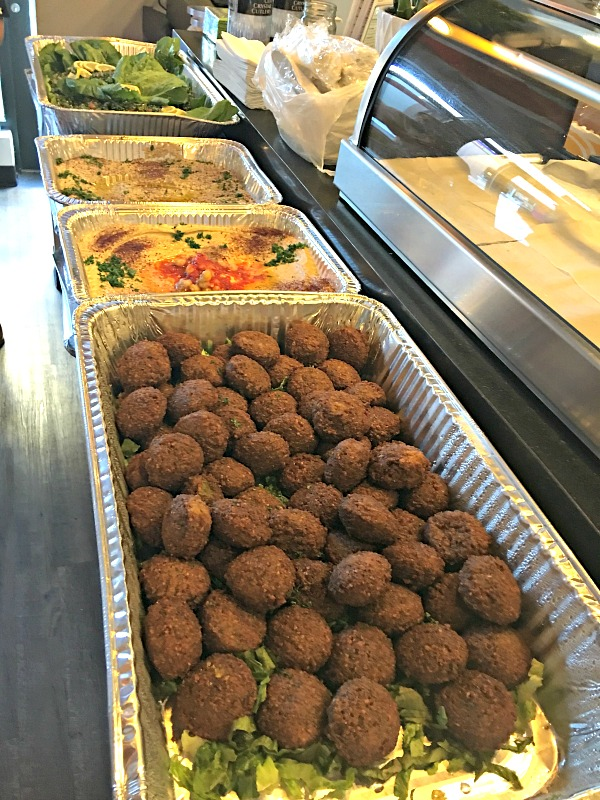 Falafel from Le Kebab in Charlotte, NC