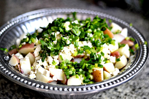 Feta Potato Salad Ingredients