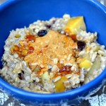Cranberry Apple Cinnamon Oatmeal {Recipe}